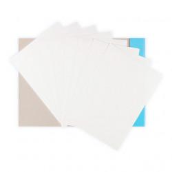 Белый картон, набор 8 листов 200г/кв.м. 21х29.7см