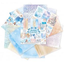 Зимнее волшебство, набор двусторонней бумаги 30,5*30,5см 12листов 180г/м АртУзор