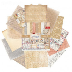 Лично в руки, набор двусторонней бумаги 30,5*30,5см 12листов 180г/м АртУзор