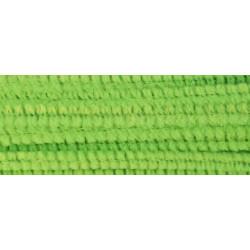 Св.зеленый, синель-проволока (шенил) 6мм*30см 30шт