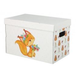 Лесная сказка, коробка складная 37х22х25см гофрокартон АртУзор