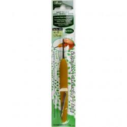 Крючок для вязания №1.75мм металл Clover