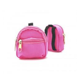 Рюкзак для куклы розовый, 65х75х30мм