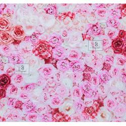 Букеты роз, глянцевая бумага упаковочная 70х100см SL