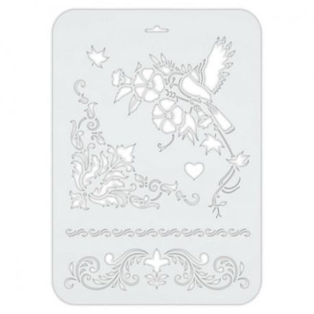 Трафарет декоративный 22х31см пластик Love2Art