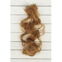 Русый, кудри волосы для кукол 40см на трессе 50см цв.№27А SL