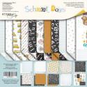 School Days, набор двусторонней бумаги 30х30см, 190гр/м, 10+1листов Scrapmir