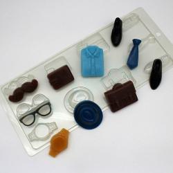 Мужской набор, пластиковая форма XD