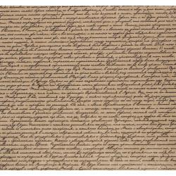 Рукопись, крафт бумага упаковочная 100х70см