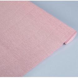 Розовый мел, креп(гофробумага), 2,5*0,5м