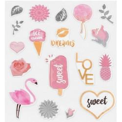 Sweet dreams, наклейки декоративные 20шт 11х16см пластик АртУзор