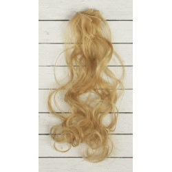 Русый, кудри волосы для кукол 40см на трессе 50см цв.№15 SL