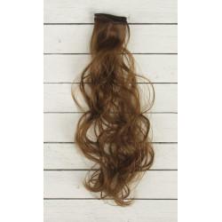 Каштан, кудри волосы для кукол 40см на трессе 50см цв.№6 SL