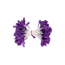 Фиолетовый, тычинки для цветов, 85шт. Fiorico