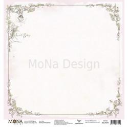 Зайка из коллекции Моя девочка, лист односторонней бумаги 30х30см, 190гр/м MoNa design