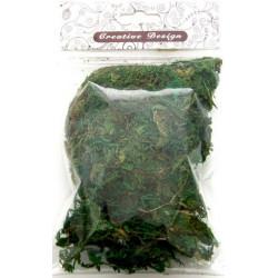 """Натуральный зеленый, декоративный наполнитель """"мох натуральный"""", 30г"""