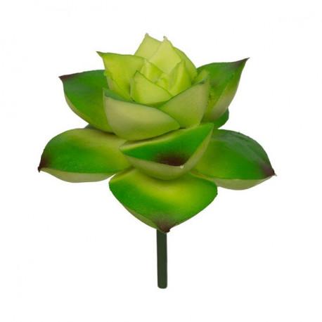 Суккулент, декоративный элемент для флористики, пвх 6х7см 1шт