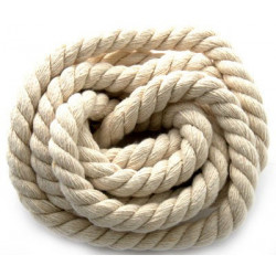 Натуральный, шнур для творческих работ 100%хлопок 1смх2м