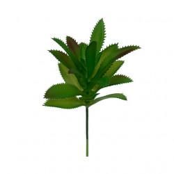 Суккулент, декоративный элемент для флористики, пвх 9х17см 1шт