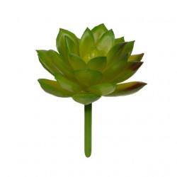 Суккулент, декоративный элемент для флористики, пвх 8х7см 1шт