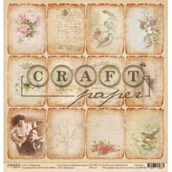 Карточки, коллекция Семейный архив бумага односторонняя 30.5х30.5см 190г/м2 CraftPaper