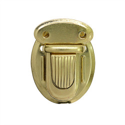 Золото, застежка для портфеля 25х34мм