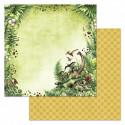 Дорога домой, коллекция Эра динозавров, бумага для скрапбукинга 30,5x30,5см 180г/м ScrapMania