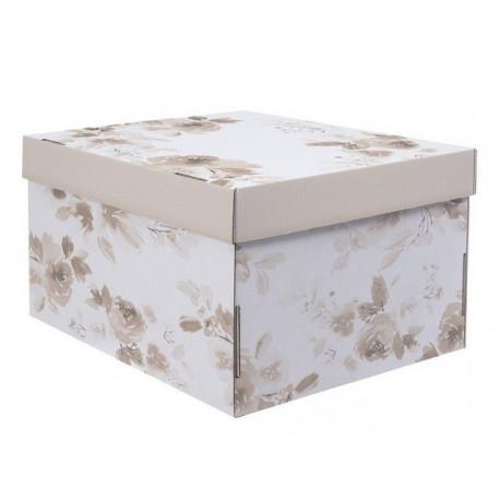 Для твоих мечтаний, коробка складная с окошком 31х26х16см гофрокартон АртУзор