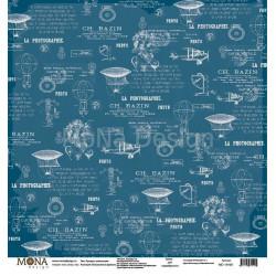 Прогресс цивилизации из коллекции Путешествие во времени, лист односторонней бумаги 30х30см, 190гр/м