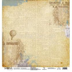 Рукопись веков из коллекции Путешествие во времени, лист односторонней бумаги 30х30см, 190гр/м MoNa
