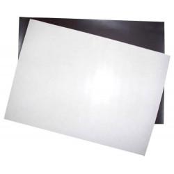 Магнитный винил с клеевым слоем, 0.4мм, 25х25см