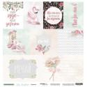 Карточки (RU) из коллекции Oh, Balle, лист односторонней бумаги 30х30см, 190гр/м Scrapmir