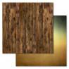 Доски, коллекция Дембельский альбом, бумага для скрапбукинга 30,5x30,5см 180г/м ScrapMania