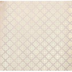 Королевский узор, калька декоративная c фольгированием 30,5х30,5см SL