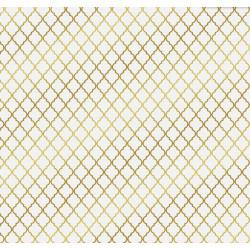 Восток, односторонняя бумага для скрапбукинга с фольгированием 30,5х30,5см 250г/м2 АУ