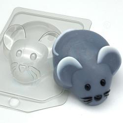 Мышь/Вид сверху, пластиковая форма XD