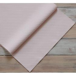 Светло-розовый в квадратик, кожа искусственная 33х69(±1см) плотность 440 г/кв.м.