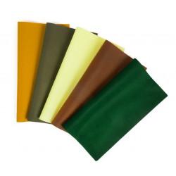 Осенний лес, набор фетр корейский декоративный Premium 100% полиэcтер, толщина 1мм, 27х30см, 5шт