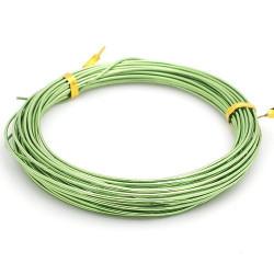 Св.зеленый, проволока для плетения d1мм 10м, WW-art