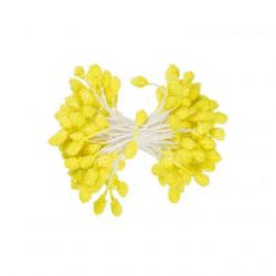 Желтый, тычинки для цветов, 85шт. Fiorico