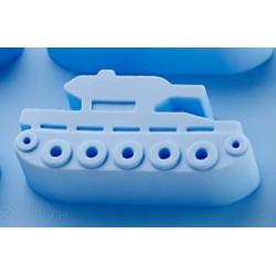 Танк, силиконовая форма для мыла