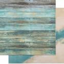 Синие доски-Синий, фотофон двусторонний 45х45см картон