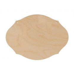 Панно №2(2шт), заготовка для декорирования фанера 4мм 20х14,5cм Mr.Carving