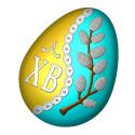 Яйцо ХВ верба, пластиковая форма БП
