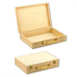 Коробка, заготовка для декорирования дерево 26х18х6см, Mr.Carving