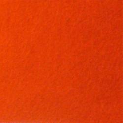 Оранжевый, фетр декоративный А-270/350 40%шерсть, 60%вискоза, толщина 1мм, 30х45см
