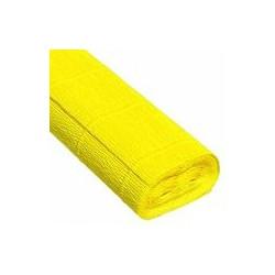 Лимонный, креп(гофробумага), 2,5*0,5м