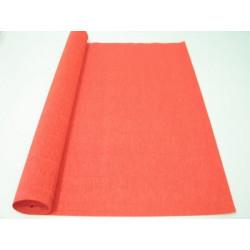 Красный апельсин, креп(гофробумага), 2,5*0,5м