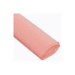 Розовый светлый, креп(гофробумага), 2,5*0,5м