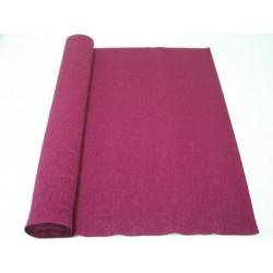 Бордовый, креп(гофробумага), 2,5*0,5м